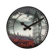 Zegar ścienny Nextime Big Ben czarno-biały