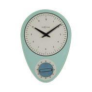 Zegar ścienny NeXtime Hans niebieski