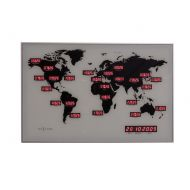 Zegar ścienny Nextime World Time Digit