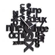 Zegar ścienny Umbra Lingua czarny
