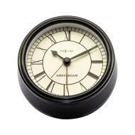 Zegar stojący 11 cm Nextime Amsterdam czarny