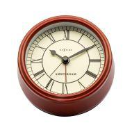 Zegar stojący 11 cm Nextime Amsterdam czerwony