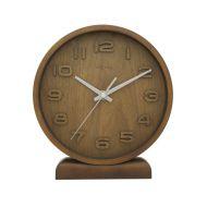 Zegar stojący 20 cm NeXtime Wood Wood Small brązowy