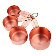Zestaw 4 szt. Miarek kuchennych Lawson Copper Ladelle LD-61036