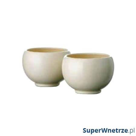 Zestaw czarek do herbaty 0,17 l Bredemeijer Jasmine kremowy B-J003CR