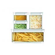 Zestaw czterech pojemników kuchennych EMSA Optima 0,18/0,18/1,0/1,6 L