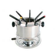 Zestaw do fondue 11-częściowy 19,5cm MOHA srebrny