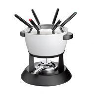 Zestaw do fondue 1,4 l Kuchenprofi Davos biały