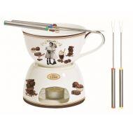 Zestaw fondue do czekolady 0,4L Nuova R2S Chocolate Vintage