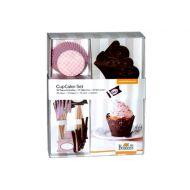 Zestaw do minibabeczek Birkmann Cupcake Rose - 72 elementy