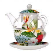 Zestaw do serwowania herbaty Dahlia 190 ml Miloo Home Amazonia wielobarwny