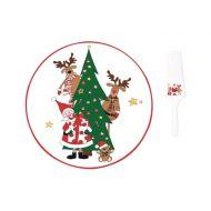 Zestaw do serwowania ciast Nuova R2S Christmas Collection choinka