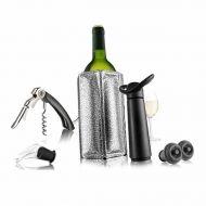 Zestaw do wina Vacu Vin Essentials czarny