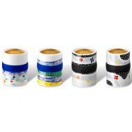 Zestaw filiżanek do espresso 4 szt. PO: Barcelona