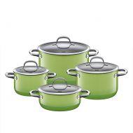 Zestaw garnków 4szt Silit Passion Green zielony 1,3l-6,4l