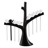 Zestaw koreczków na drzewku Koziol Pi:p czarno-biały