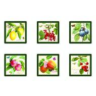 Zestaw podkładek korkowych Nuova R2S Botanical 6 szt.