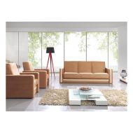 Zestaw wypoczynkowy do salony MalysMeble EUFORIA 3+1+1 sonoma
