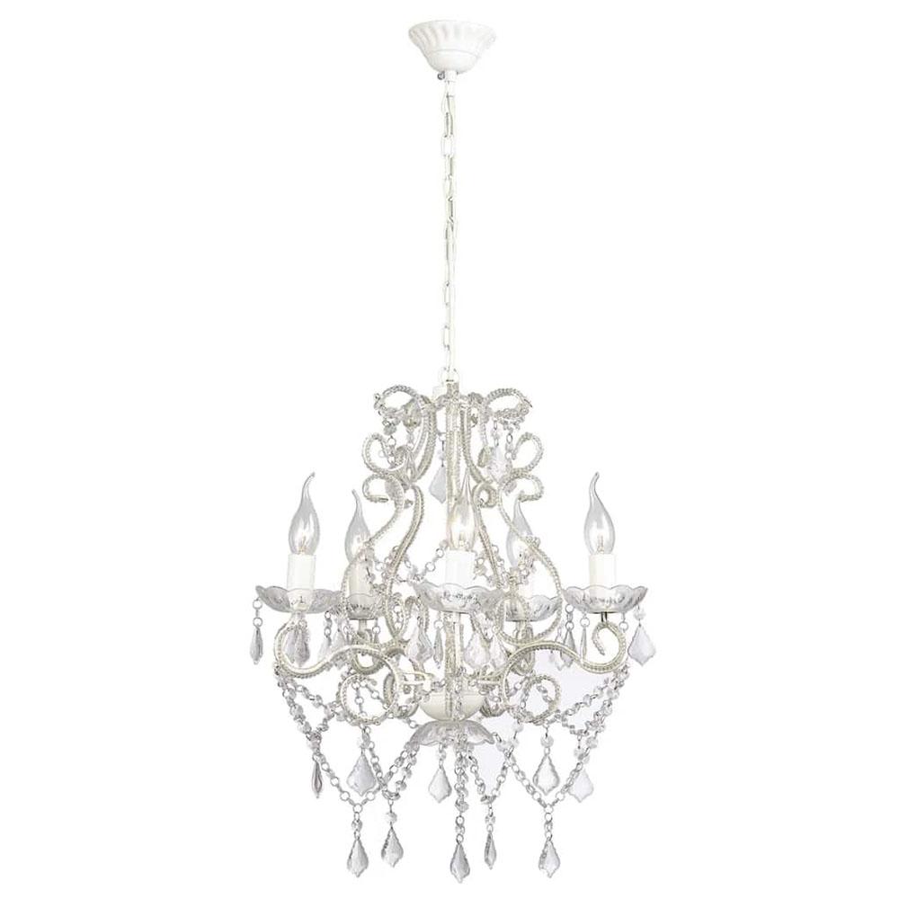 Lampa wisząca z 2800 kryształkami E14